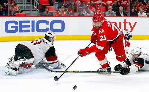 NHL: Tobias Rieder verliert mit Arizona Coyotes bei Detroit Red Wings