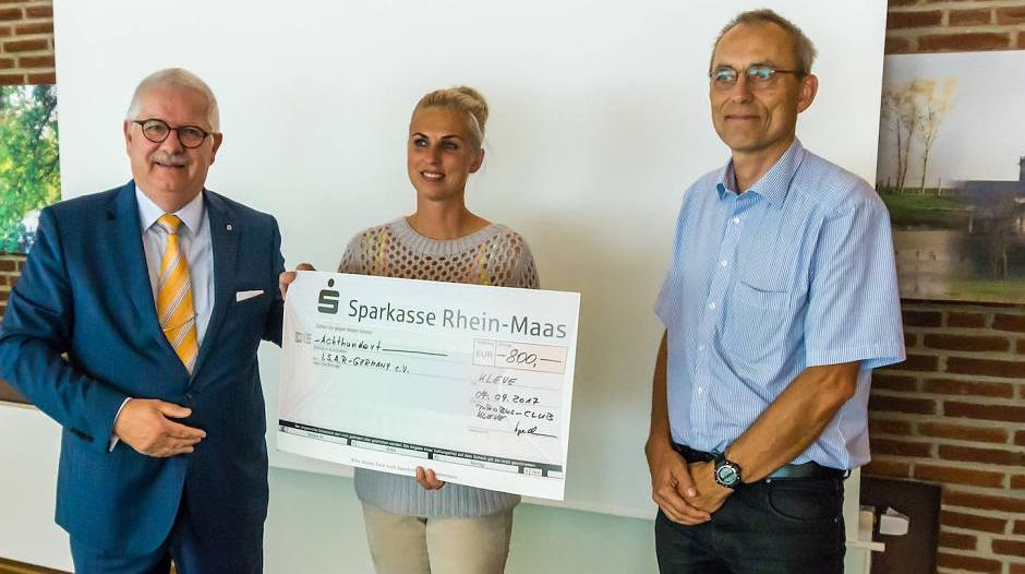 Goch/Kleve: Probus spendet 800 Euro an I.S.A.R. Germany