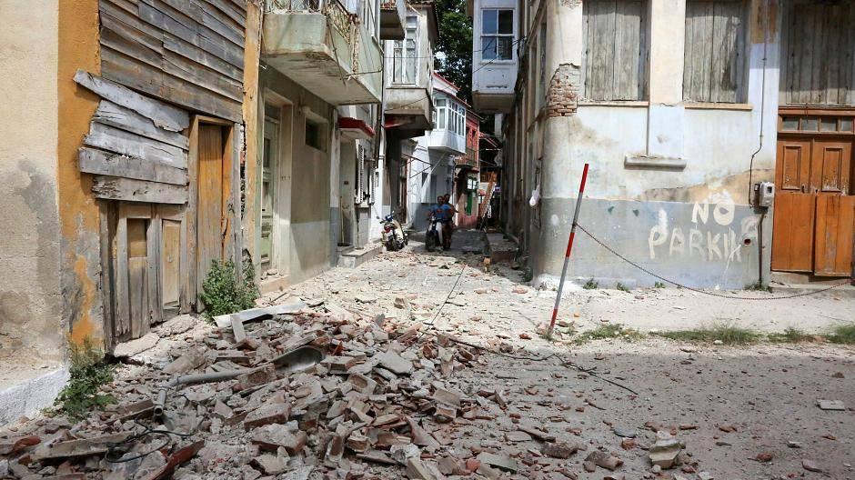 erdbeben in griechenland heute