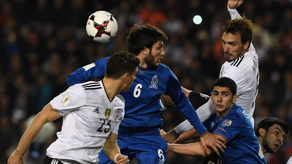 Fussball Deutschland Aserbaidschan