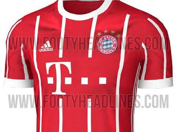 Fc Bayern München Sehen So Die Neuen Heimtrikots Für 1718 Aus