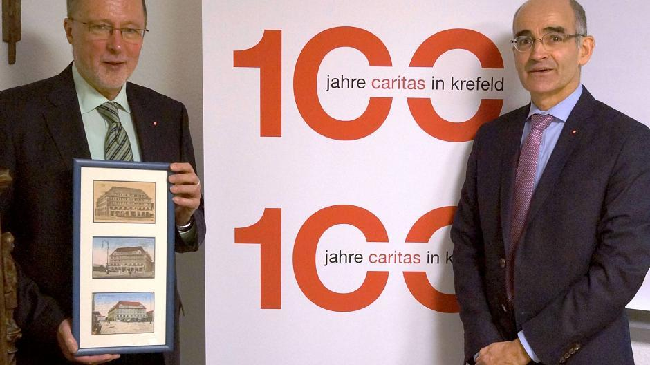 Krefeld Die Caritas Feiert Ein Doppeljubiläum