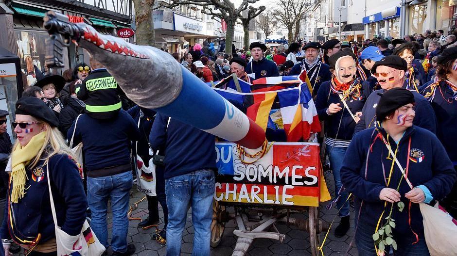 Charlie Hebdo Wagen