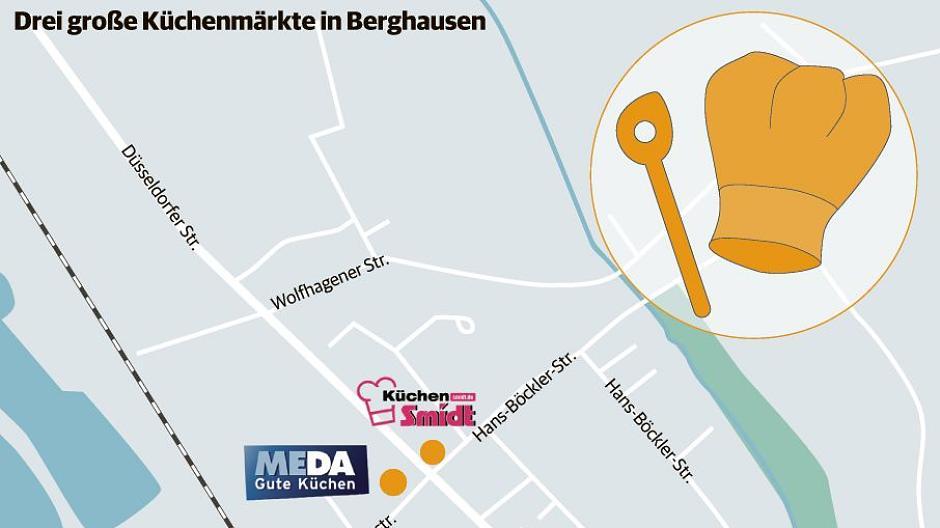 Langenfeld: Berghausen wird zur Küchen-Meile