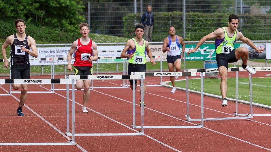 diversifiziert in der Verpackung neuer & gebrauchter designer genießen Sie besten Preis Leichtathletik: Hürdenläufer knacken DM-Normen