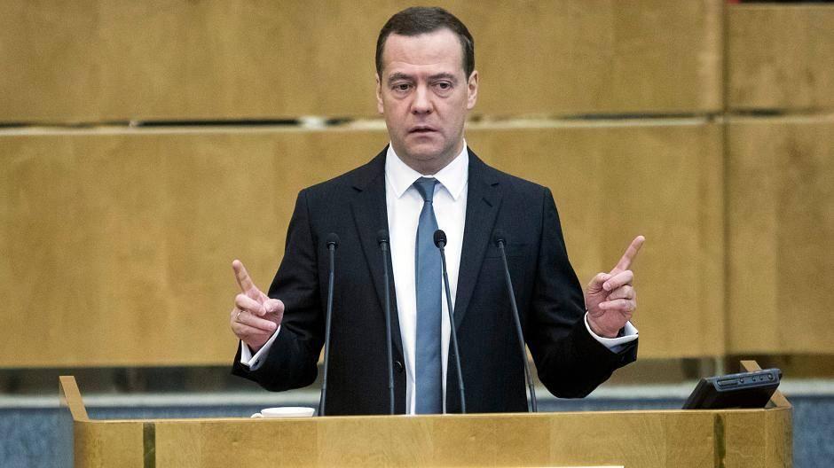 Moskau Medwedew als Ministerpräsident bestätigt