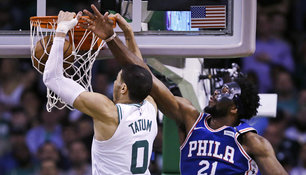 Boston Celtics schlagen Philadelphia 76ers