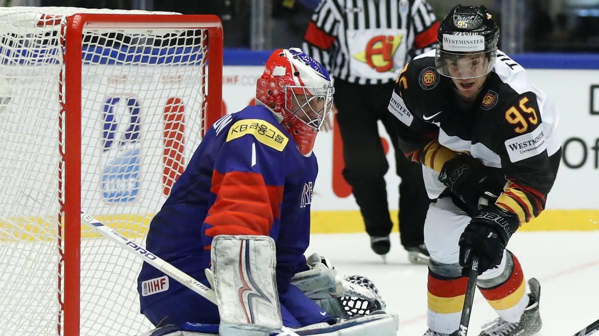 Eishockey-WM : Deutschland verliert auch Alles-oder-Nichts-Spiel gegen Lettland