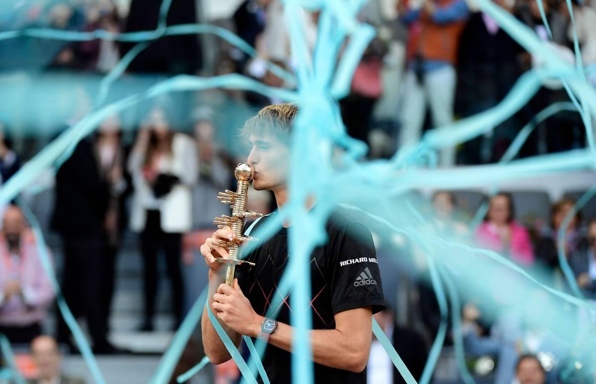 Zverev gewinnt Turnier in Madrid