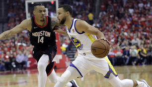 Warriors gewinnen Spiel eins in Houston