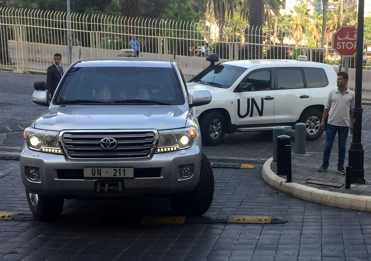 Syrien Chemiewaffen Organisation bestätigt Einsatz von Giftgas