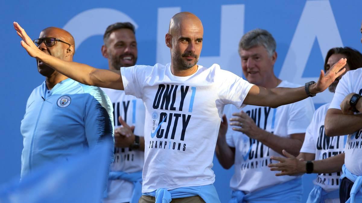 Neue Ära: Pep verlängert bei City vorzeitig