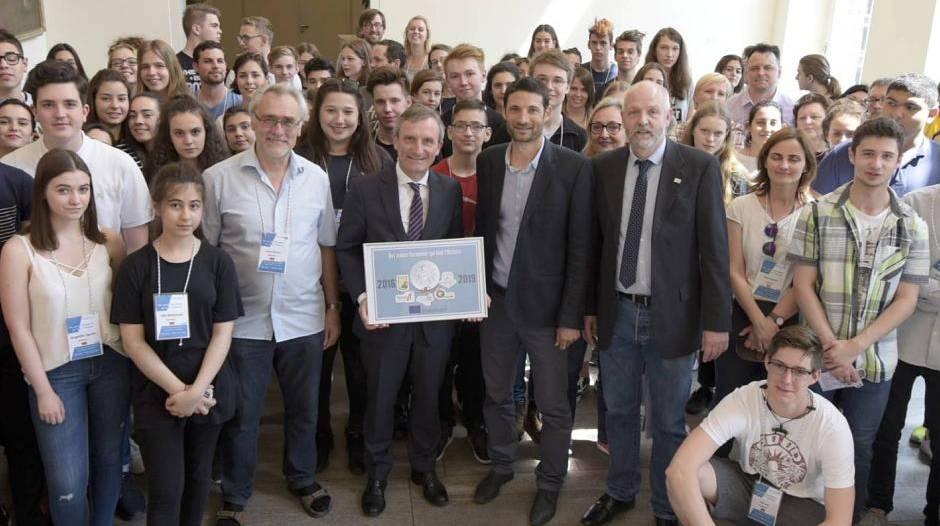 Benrath: Junge Europäer machen Geschichte(n)