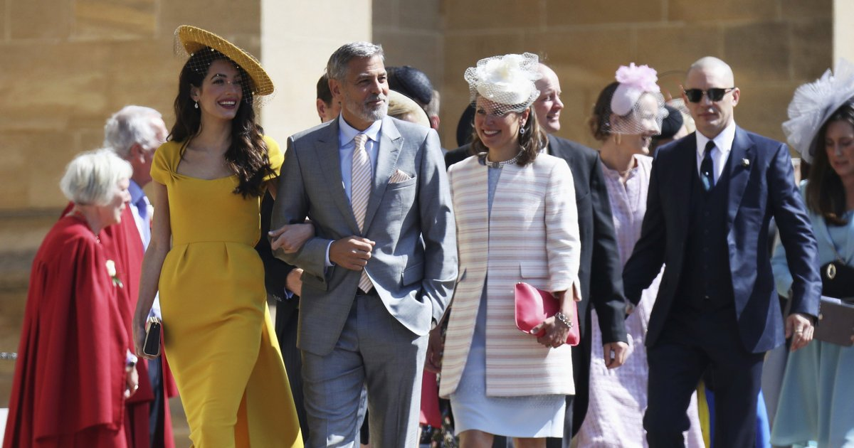 Diese Gaste Waren Bei Der Hochzeit 2018 Von Harry Und Meghan Dabei