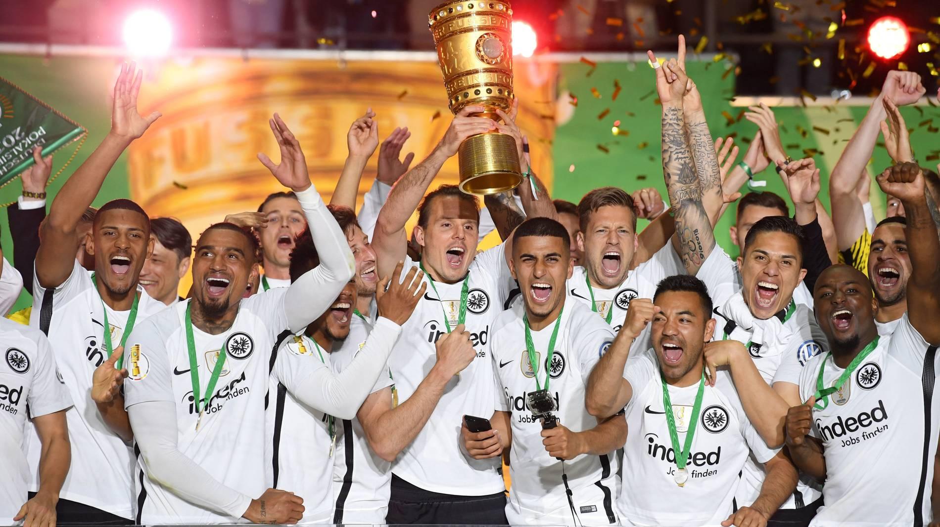 DFB-Pokal-Finale 2018: Eintracht Frankfurt gelingt ...