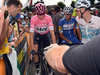 Christopher Froome wird das Rosa Trikot