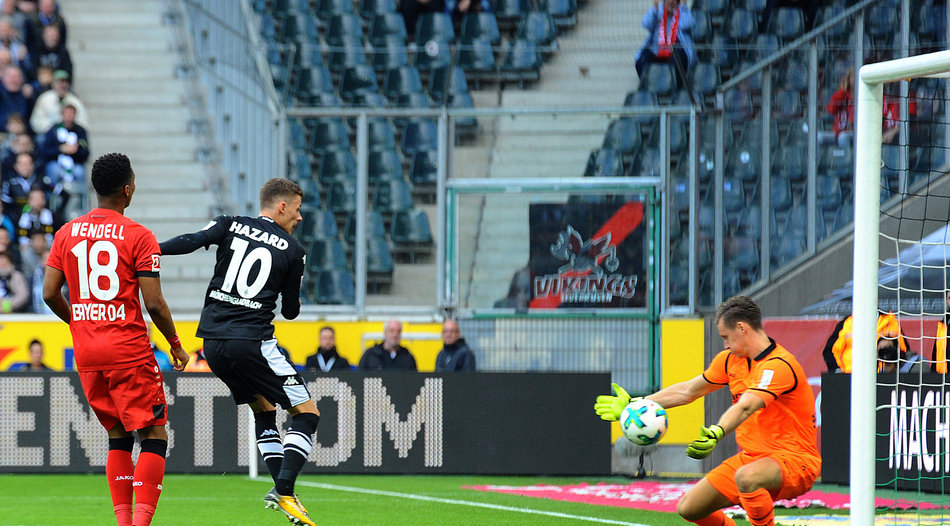 Borussia Mönchengladbach: Thorgan Hazard bei Expected Goals im Minus