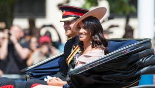 Meghan Markle und Prinz Harry am