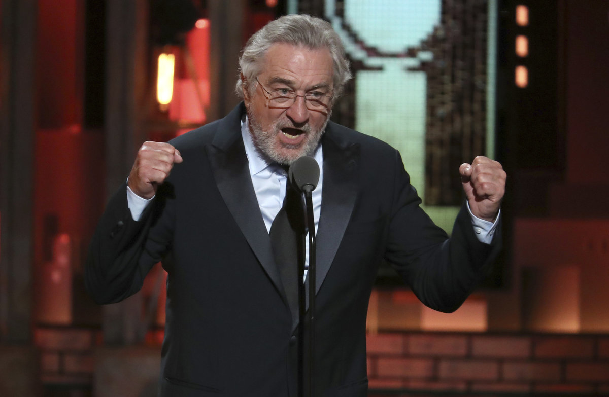 Robert De Niro feuert weiter gegen Trump