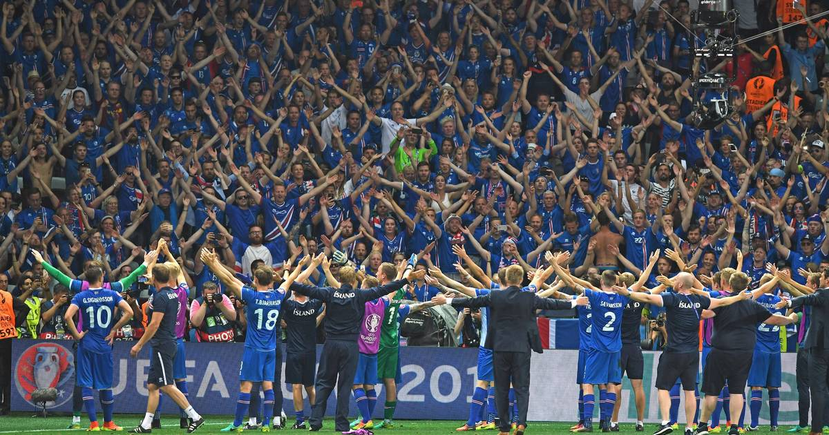 Island Gegen Argentinien