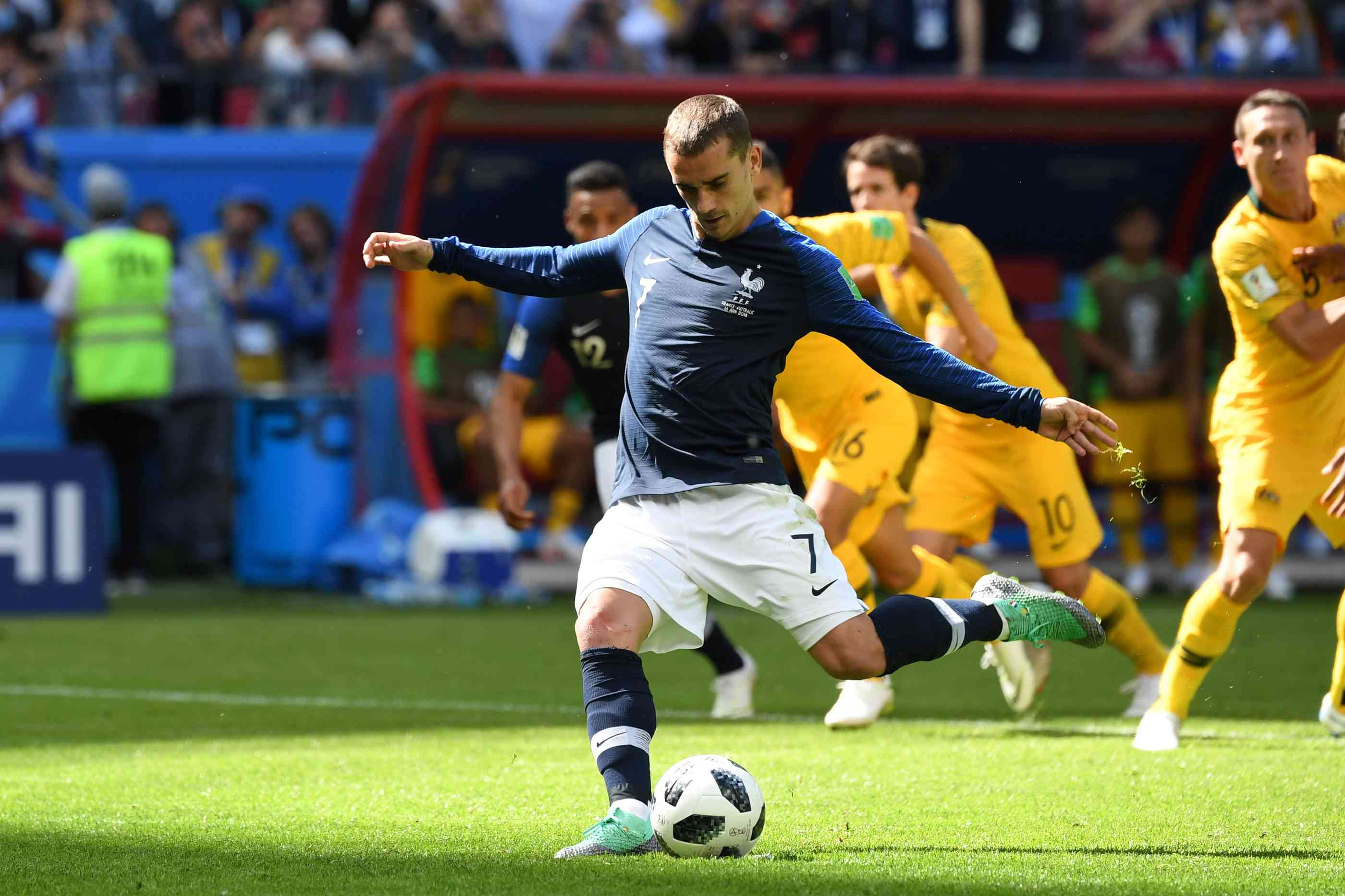 Frankreich Australien Wm
