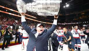 Barry Trotz, Trainer der Washington Capitals,