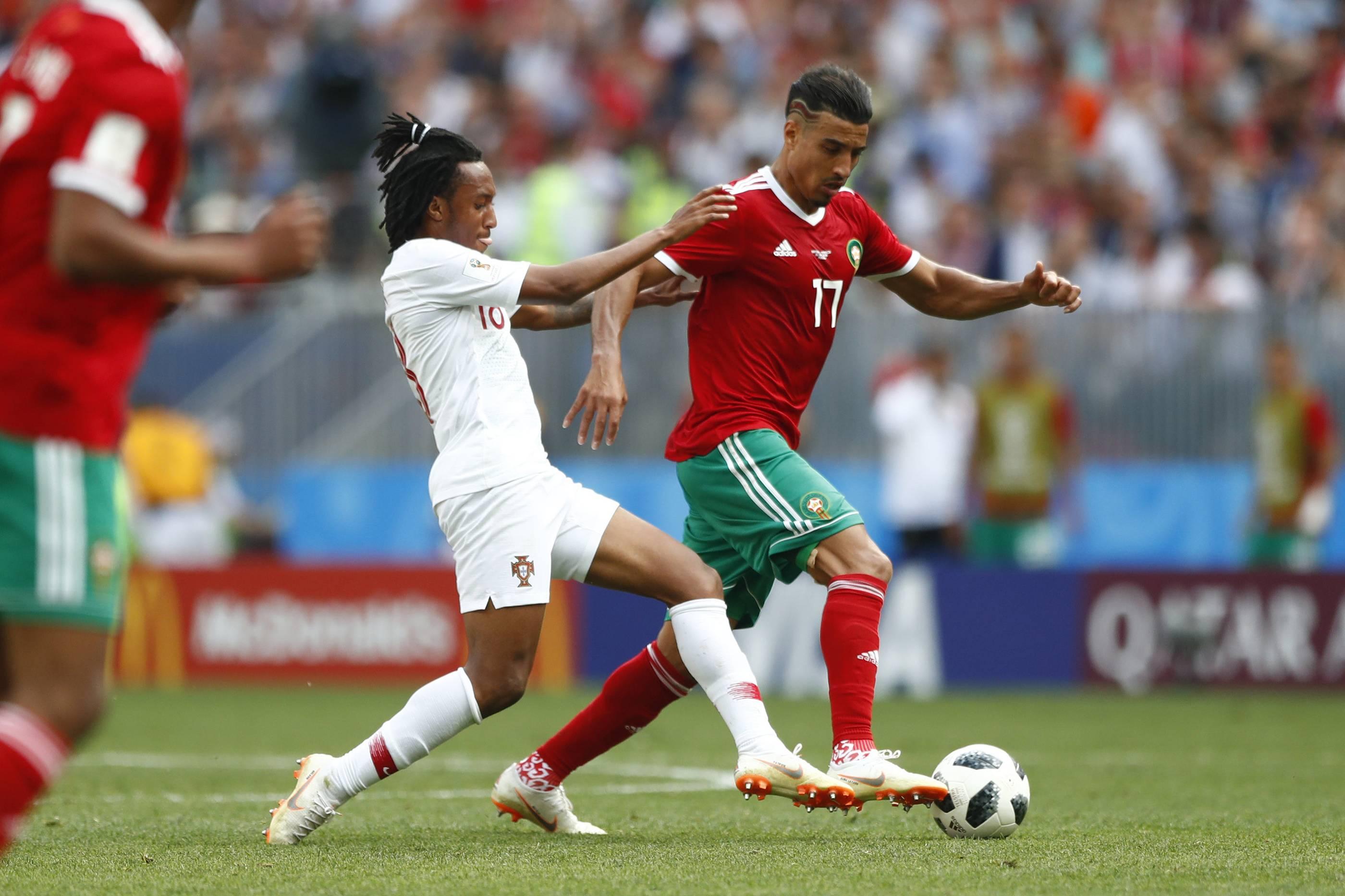 Marokko Gegen Portugal