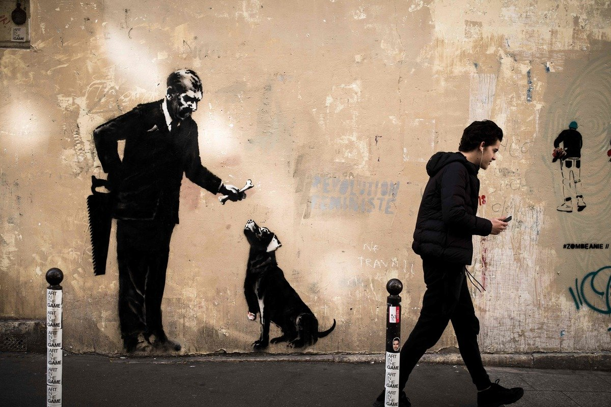 Street Art: Aufregung um mögliche Banksy-Graffiti in Paris