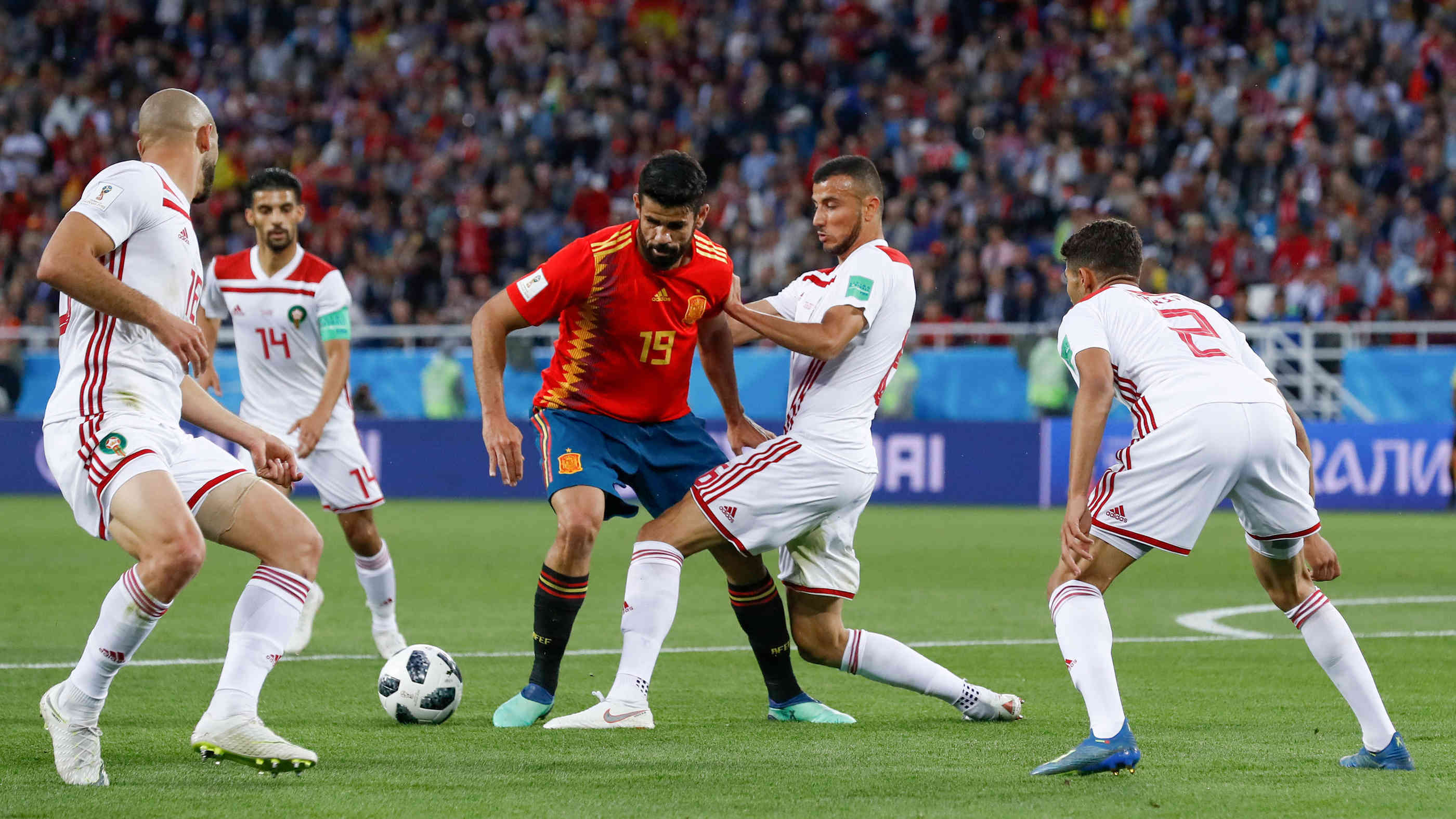 Marokko Gegen Spanien