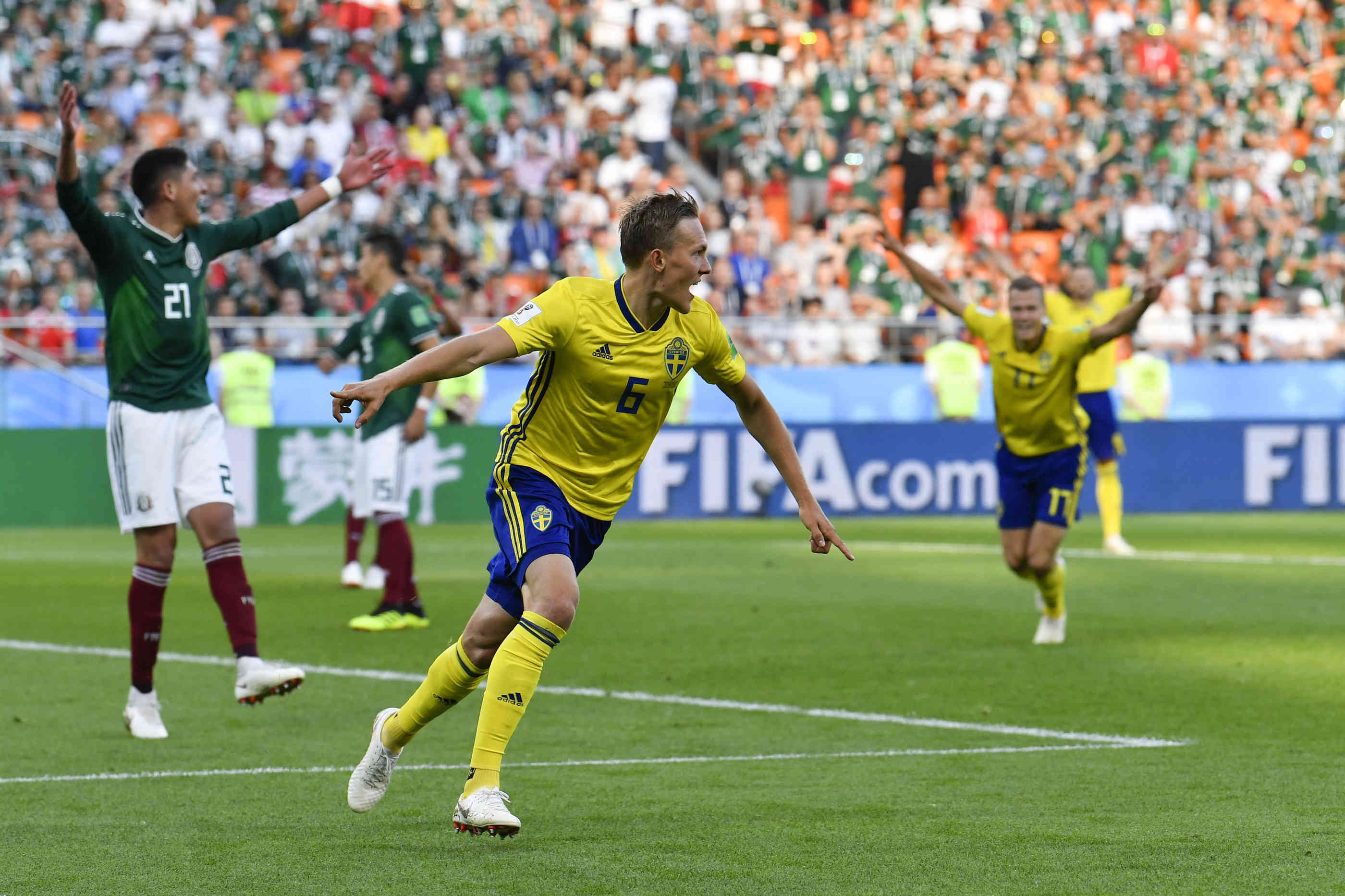 Spiel Mexiko Schweden