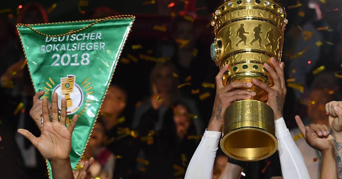 Pokalspiel Borussia Mönchengladbach