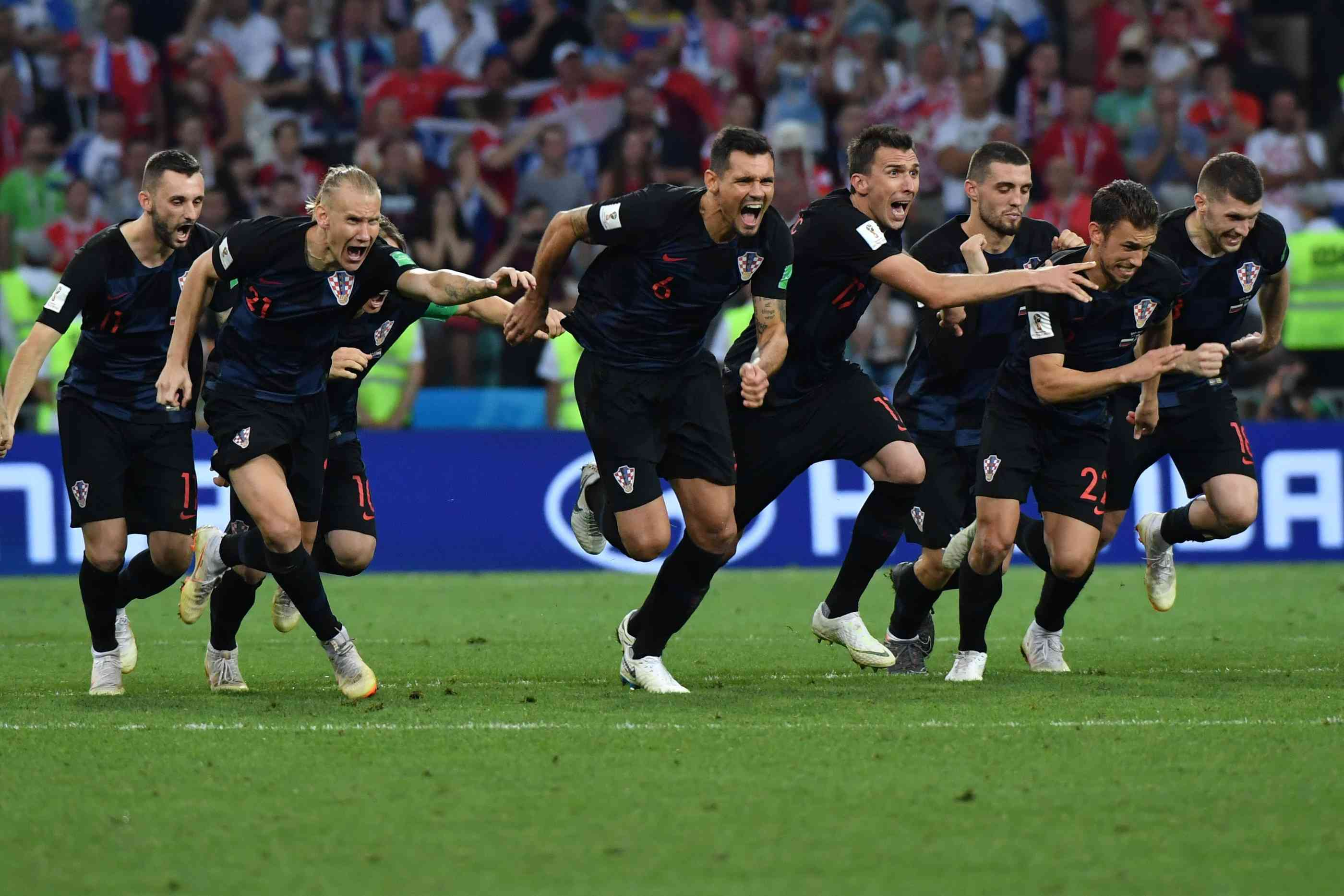 Elfmeterschießen Russland Kroatien