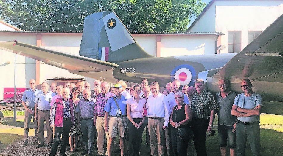 CDU besuchte Royal Air Force-Museum