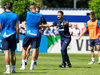 Domenico Tedesco beim Schalke-Training.