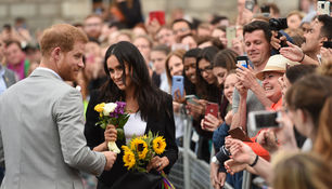 Prinz Harry und Meghan in Irland