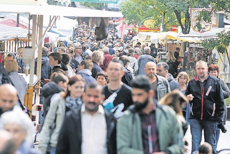 50. Solinger Zöppkesmarkt startet am 7. September