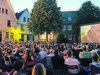 Beim Open Air Kino in Mettmann