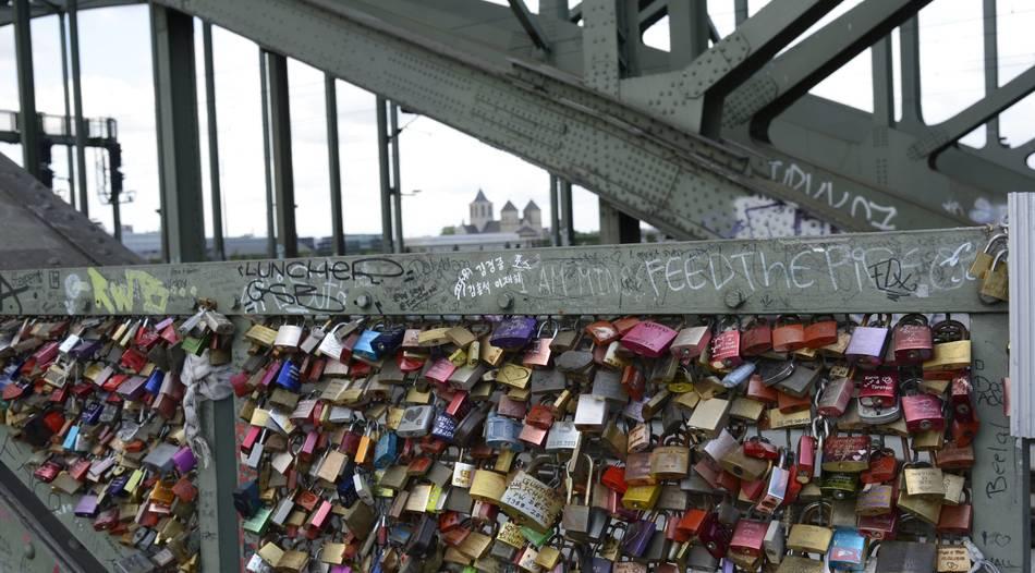 Hohenzollernbrücke Schlösser