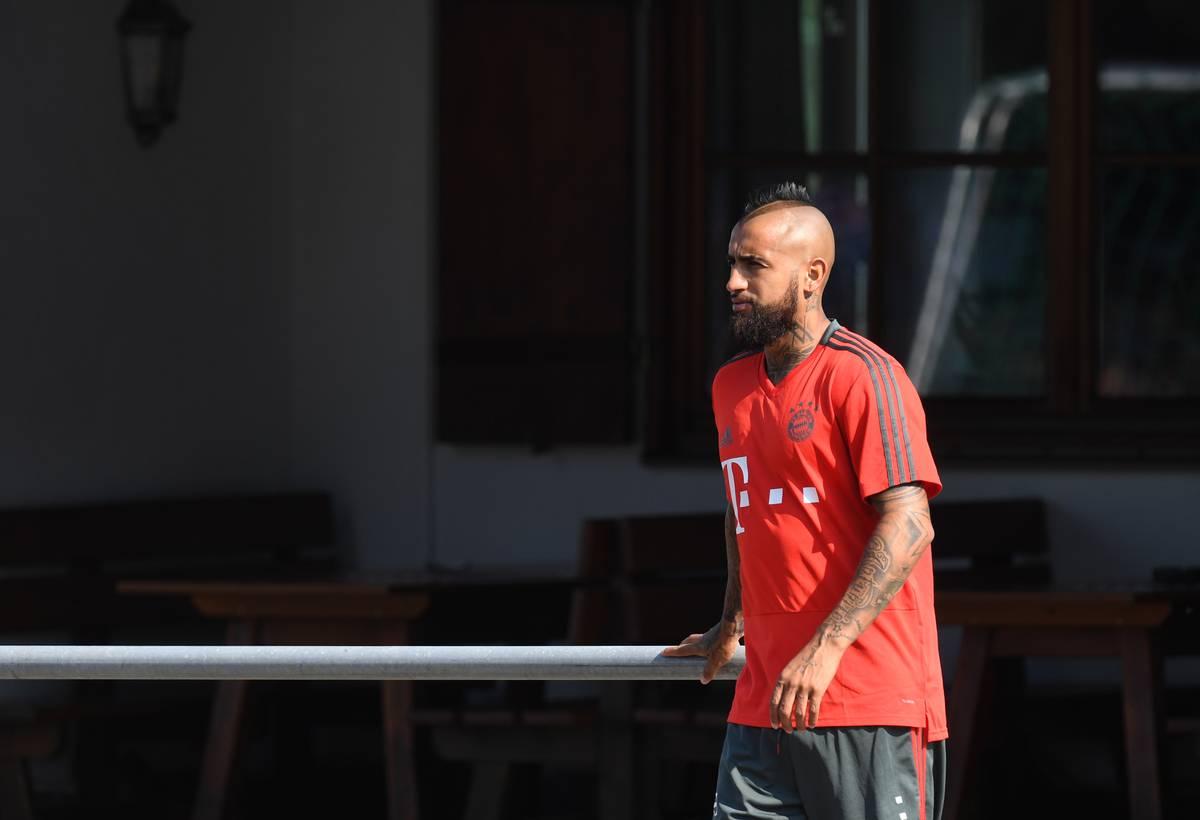 Arturo Vidal vor Transfer vom FC Bayern zu Inter Mailand