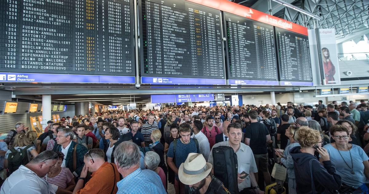 Frankfurt Flughafen Verspätung