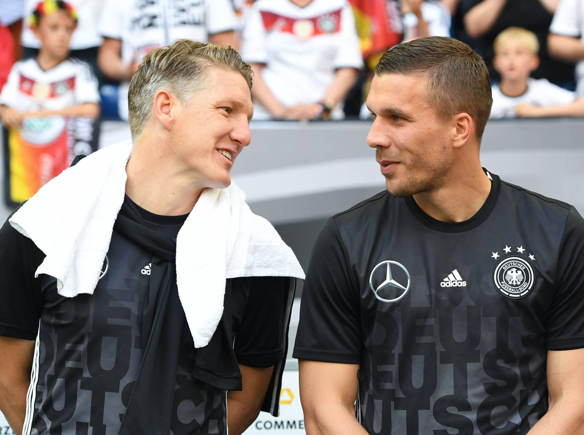 Lukas Podolski Werbung