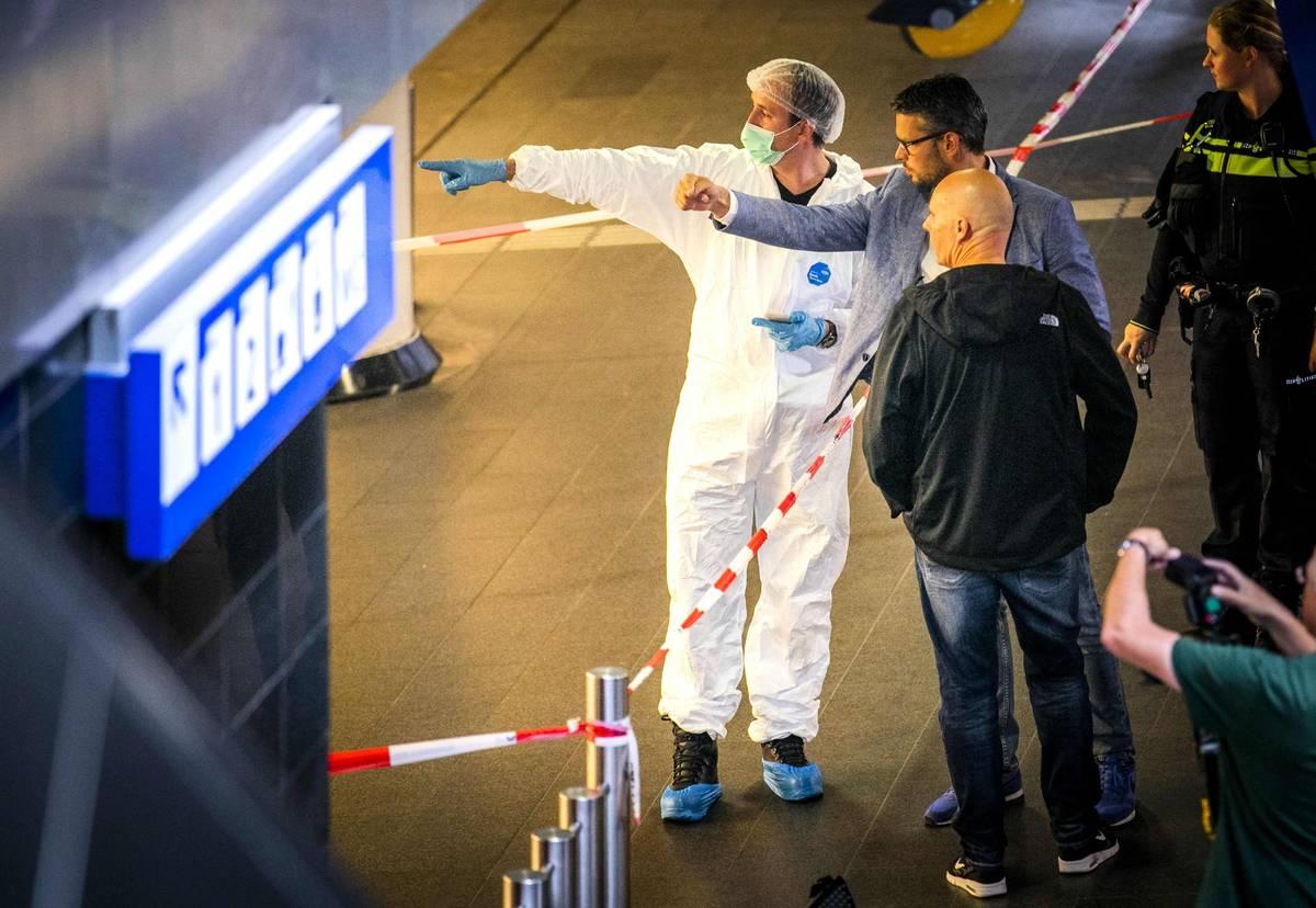 Verletzte bei Messerattacke am Amsterdamer Bahnhof