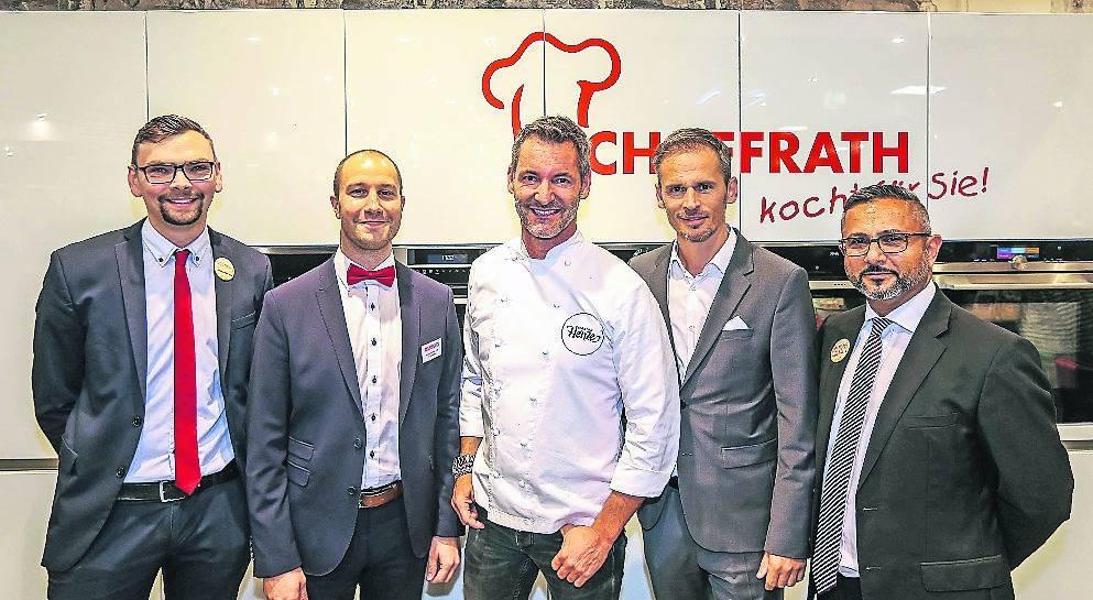 Düsseldorf: Schaffrath feiert den Relaunch seines Küchen-Stores