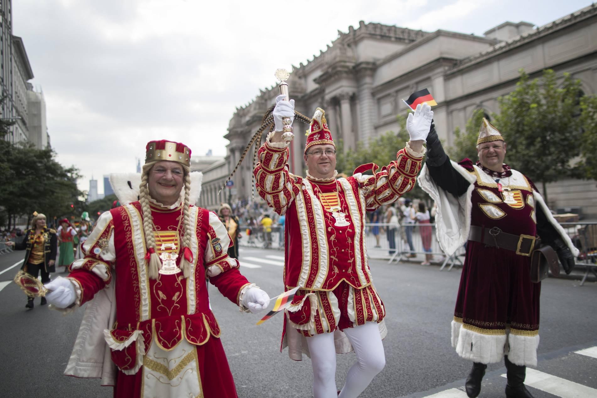 Steuben Parade 2018 Tausende New Yorker Feiern Deutsche