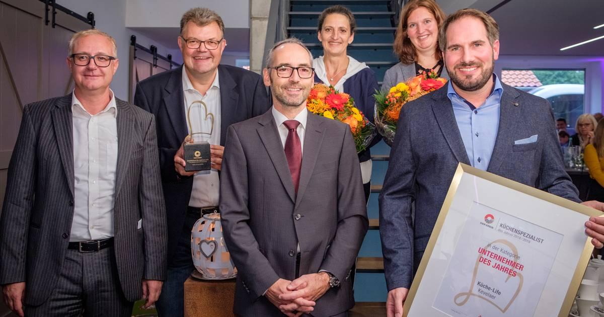 Unternehmer des Jahres: Einkaufsverband zeichnet Küche-Life aus