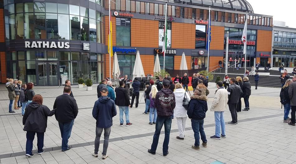 Leverkusen: Deutlich weniger Teilnehmer bei rechter Demo als erwartet