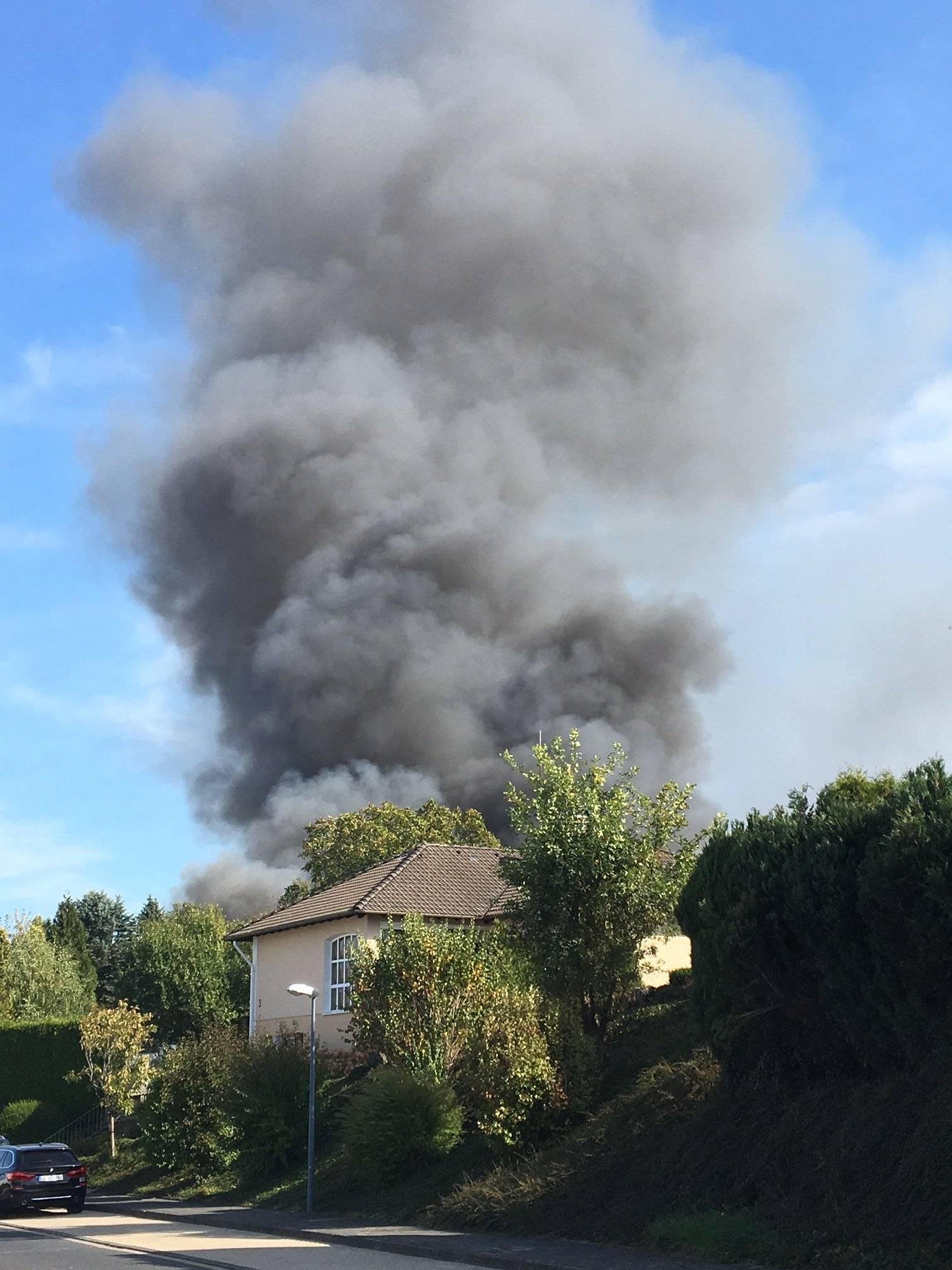Großbrand Radevormwald