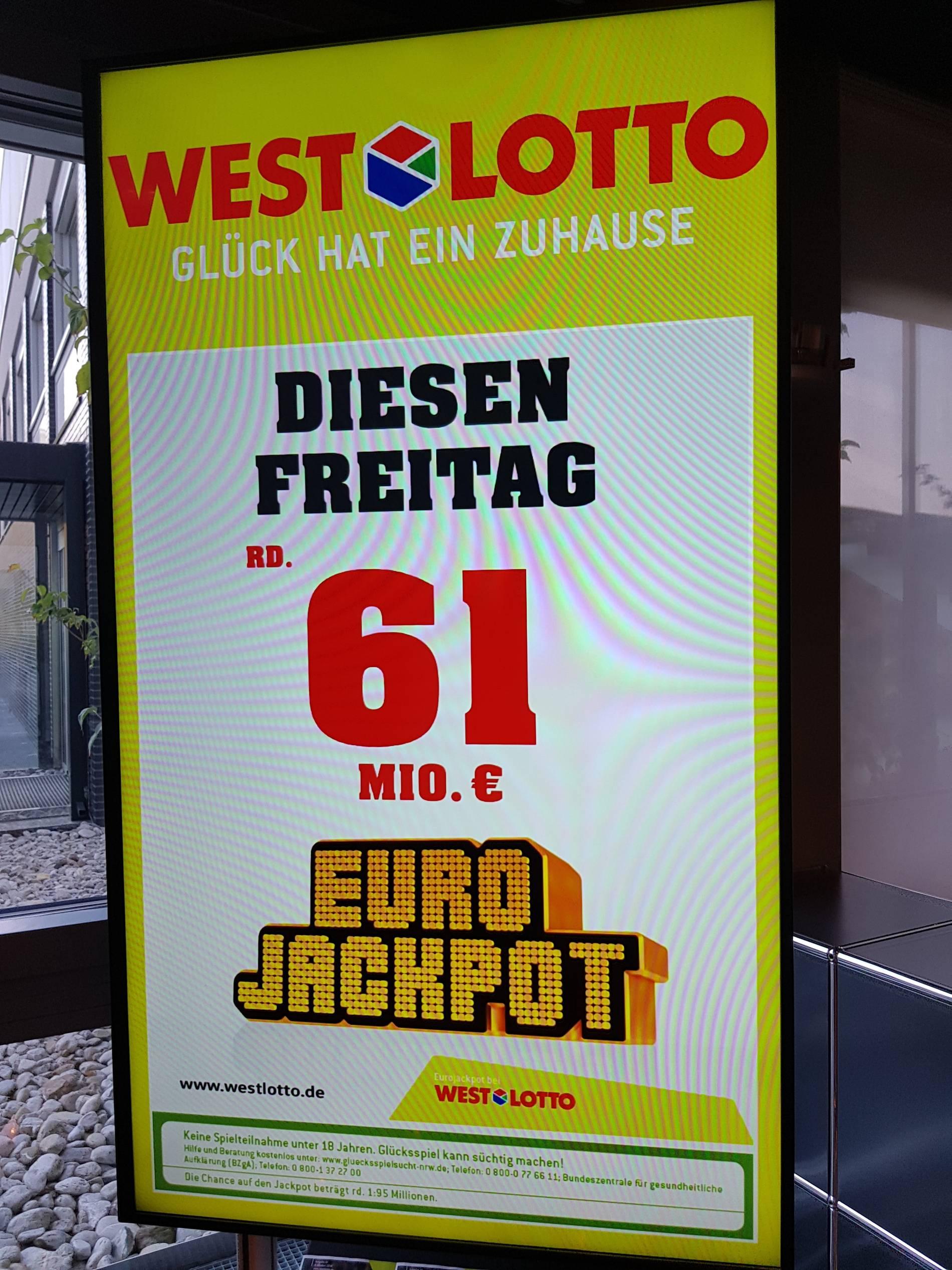 lotto am freitag eurojackpot