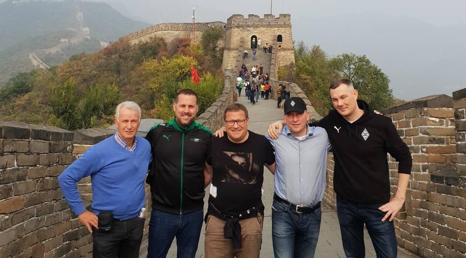 Borussia präsentiert sich in China