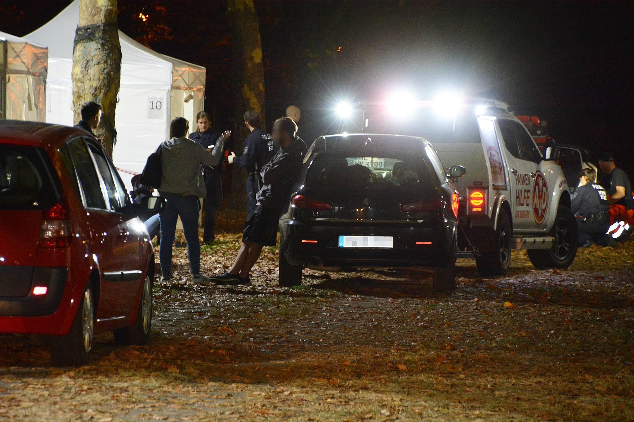 Polizeikontrollen Vor Festivals